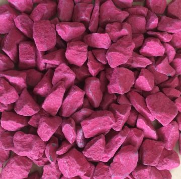 Decorative COLOURED Stones Pebbles Gravels LARGE - HOT PINK